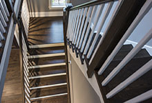 2354-Wood-Drive-Northbrook - Stairs Top View - Globex Developments Custom Homes