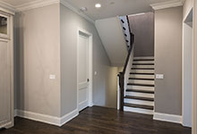 2354-Wood-Drive-Northbrook - Stairs from the Kitchen to the second floor - Globex Developments Custom Homes