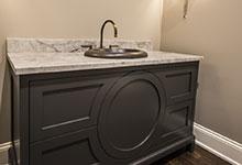 2354-Wood-Drive-Northbrook - Vanity Powder Room - Globex Developments Custom Homes