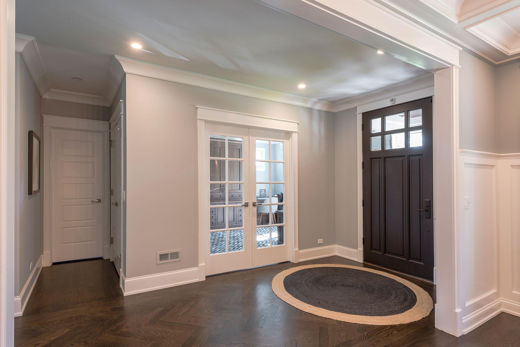Front Door Office Door Powder Room Door New Custom Homes