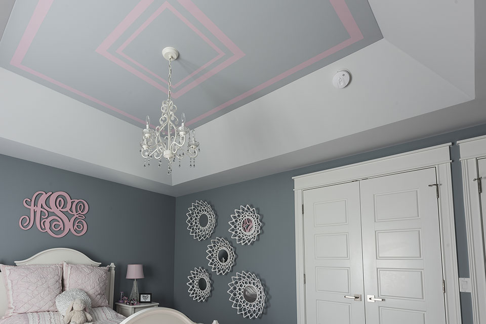 2430-Fir-St-Glenview - Ceiling,-Girl-Bedroom - Globex Developments Custom Homes