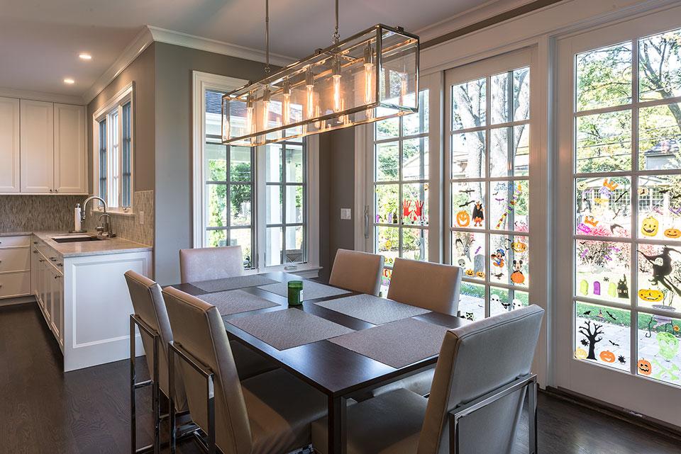 2430-Fir-St-Glenview - Dining Area, Kitchen - Globex Developments Custom Homes