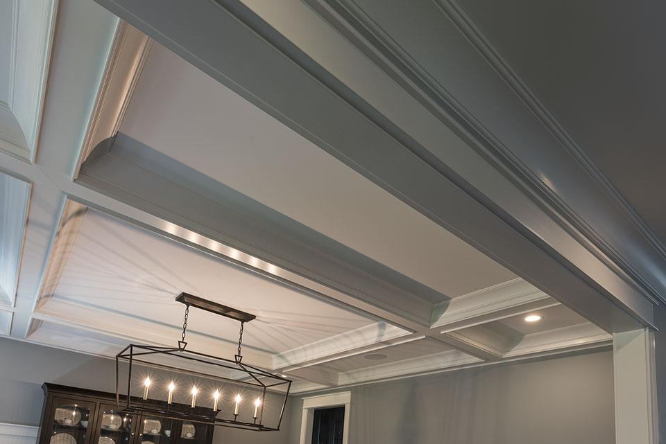 2430-Fir-St-Glenview - Dining Room Ceiling - Globex Developments Custom Homes