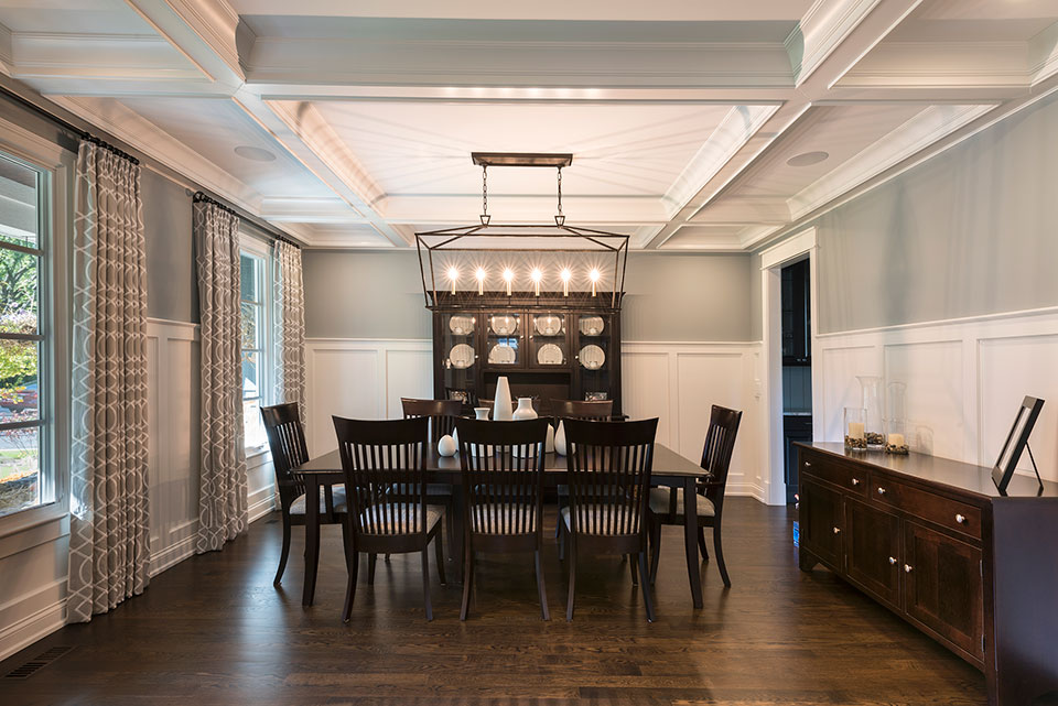 2430-Fir-St-Glenview - Dining Room - Globex Developments Custom Homes