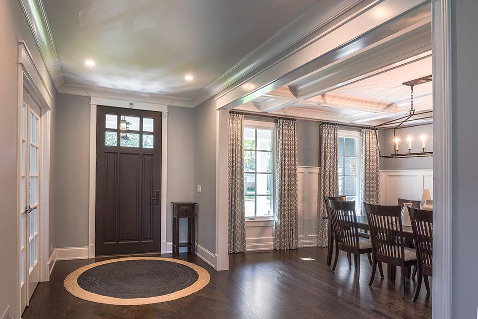 2430-Fir-St-Glenview - Entry Door, Dining Room - Globex Developments Custom Homes