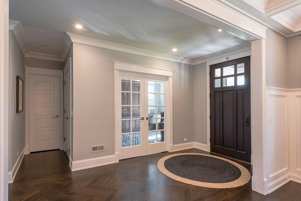 2430-Fir-St-Glenview - Front Door, Office Door, Powder Room Door - Globex Developments Custom Homes