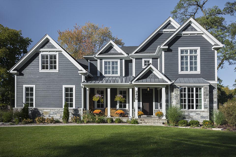 2430-Fir-St-Glenview - Front Elevation - Globex Developments Custom Homes