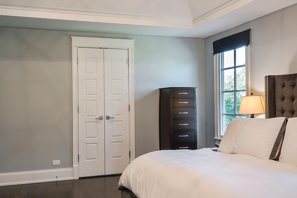2430-Fir-St-Glenview - Interior Double Door to Master Bathroom - Globex Developments Custom Homes