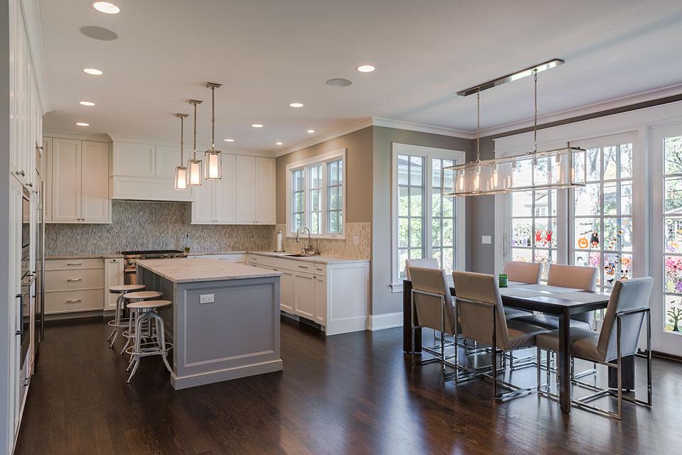 2430-Fir-St-Glenview - Kitchen, Dining Area - Globex Developments Custom Homes