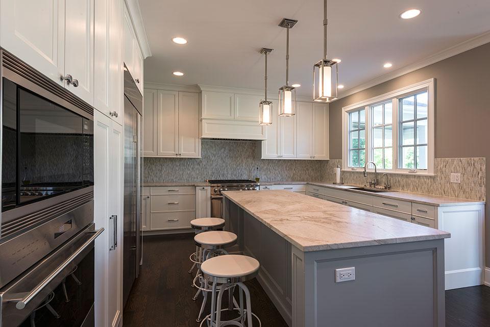 2430-Fir-St-Glenview - Kitchen Window View - Globex Developments Custom Homes