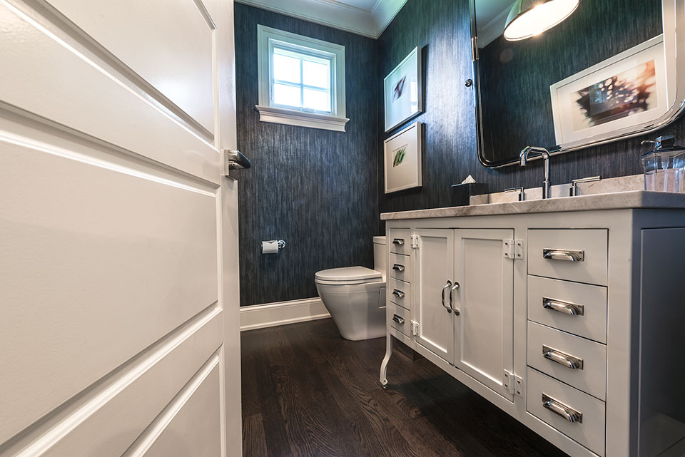 2430-Fir-St-Glenview - Powder-Room,-Vanity,-Door-Deatils - Globex Developments Custom Homes