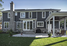 2430-Fir-St-Glenview - Back Elevation, Backyard - Globex Developments Custom Homes