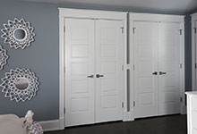 2430-Fir-St-Glenview - Coset Doors, Girl Bedroom - Globex Developments Custom Homes