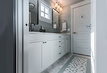 2430-Fir-St-Glenview - Jack and Jill Bathroom Vanity - Globex Developments Custom Homes