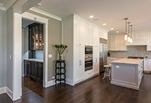 2430-Fir-St-Glenview - Kitchen, Butlers Bar - Globex Developments Custom Homes