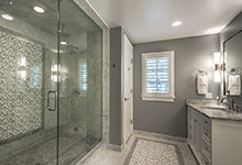 2430-Fir-St-Glenview - Master Bathroom Shower View - Globex Developments Custom Homes