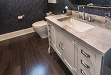 2430-Fir-St-Glenview - Powder Room Vanity Detail - Globex Developments Custom Homes