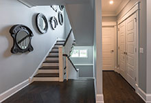 2430-Fir-St-Glenview - Stairs, Powder Room Door, Closet Door - Globex Developments Custom Homes
