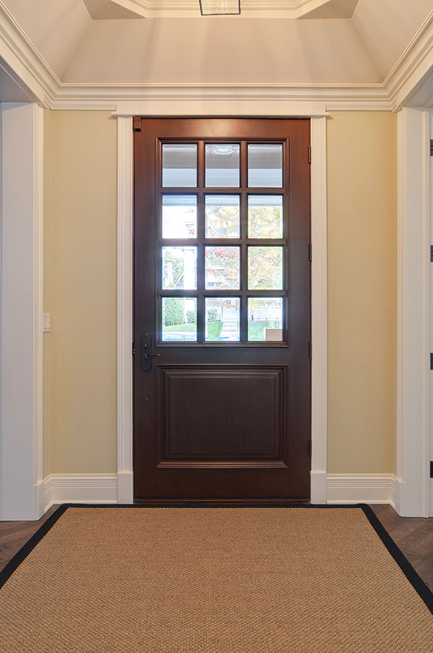 30-S-Bruner-Hinsdale - Entry-Door-Interior - Globex Developments Custom Homes