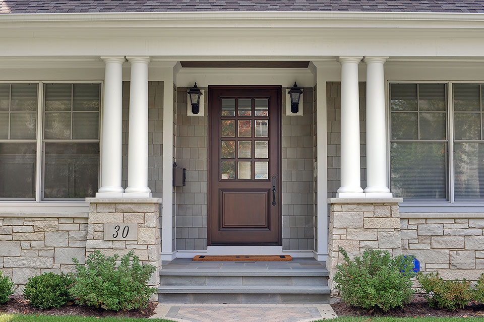 30-S-Bruner-Hinsdale - Front-Entry-Door - Globex Developments Custom Homes