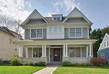 30-S-Bruner-Hinsdale - Front Elevation - Globex Developments Custom Homes