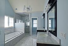 30-S-Bruner-Hinsdale - Bathroom Counter - Globex Developments Custom Homes