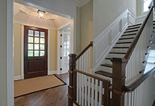 30-S-Bruner-Hinsdale - Staircase-Entry-Door - Globex Developments Custom Homes