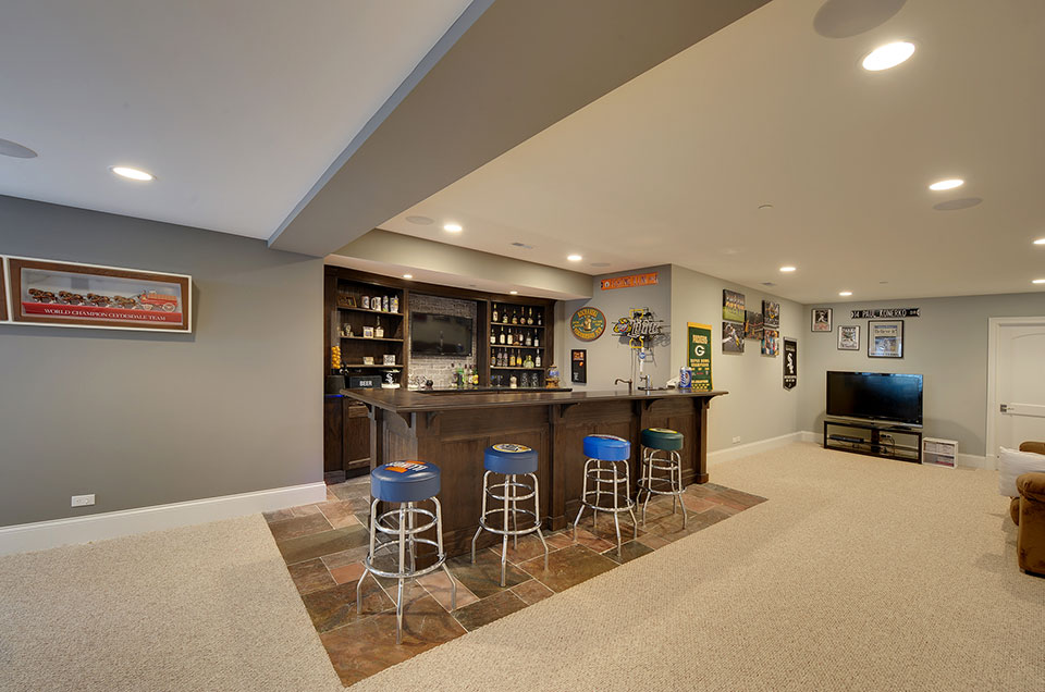 304-McArthur-Mt-Prospect - Basement-Bar - Globex Developments Custom Homes