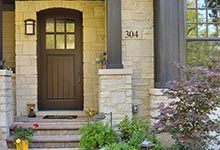 304-McArthur-Mt-Prospect - Entry-Door - Globex Developments Custom Homes