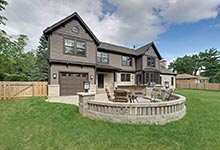 304-McArthur-Mt-Prospect - House-Backyard - Globex Developments Custom Homes
