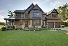 304-McArthur-Mt-Prospect - House-Front - Globex Developments Custom Homes
