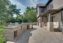 304-McArthur-Mt-Prospect - Patio-Grill - Globex Developments Custom Homes