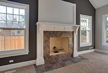 304-McArthur-Mt-Prospect - familyroom-fireplace-detail - Globex Developments Custom Homes
