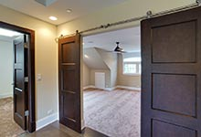 304-McArthur-Mt-Prospect - master-bedroom-barndoors-2 - Globex Developments Custom Homes