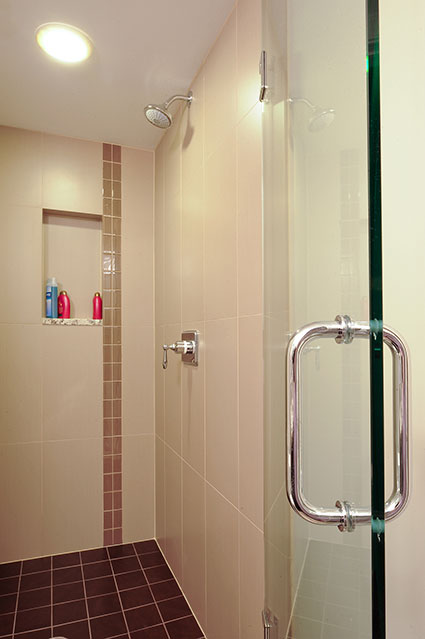 305-Neva-Glenview - Basement-Shower - Globex Developments Custom Homes