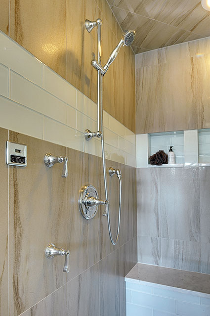 305-Neva-Glenview - Master-Bathroom-Shower-Detail - Globex Developments Custom Homes