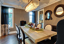305-Neva-Glenview - Dining Room Detail - Globex Developments Custom Homes