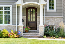 305-Neva-Glenview - Entry Door Exterior - Globex Developments Custom Homes