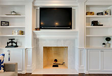 305-Neva-Glenview - Family-Room-Fireplace - Glenview Haus Gallery