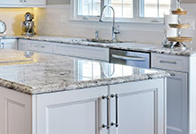 305-Neva-Glenview - Kitchen Island Detail - Globex Developments Custom Homes