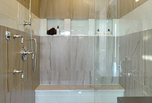 305-Neva-Glenview - Master Bathroom Shower - Globex Developments Custom Homes