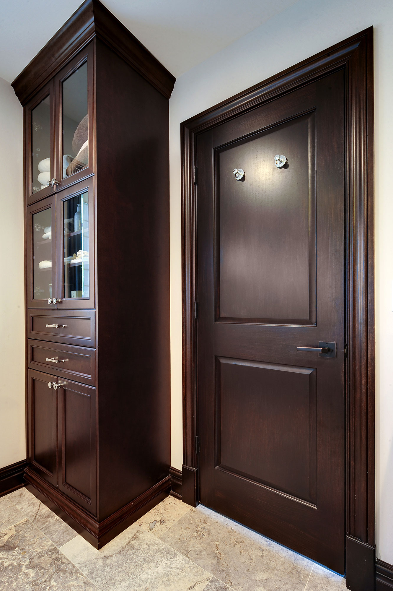 Master bathroom doors new custom homes globex for Master bathroom door