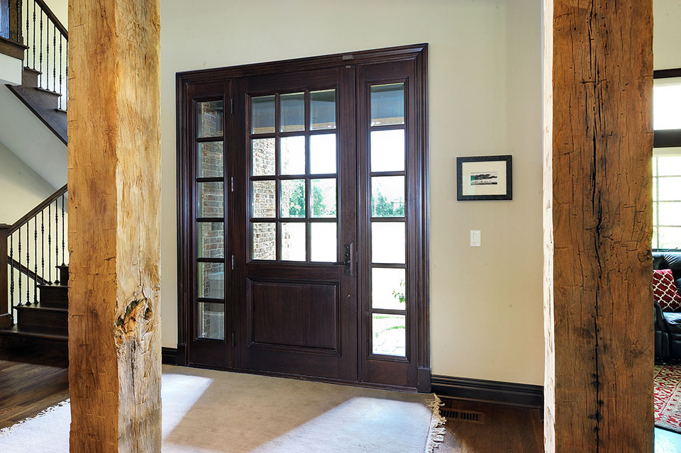 316-Luthin-Oak-Brook - Entry-Door-Interior - Globex Developments Custom Homes