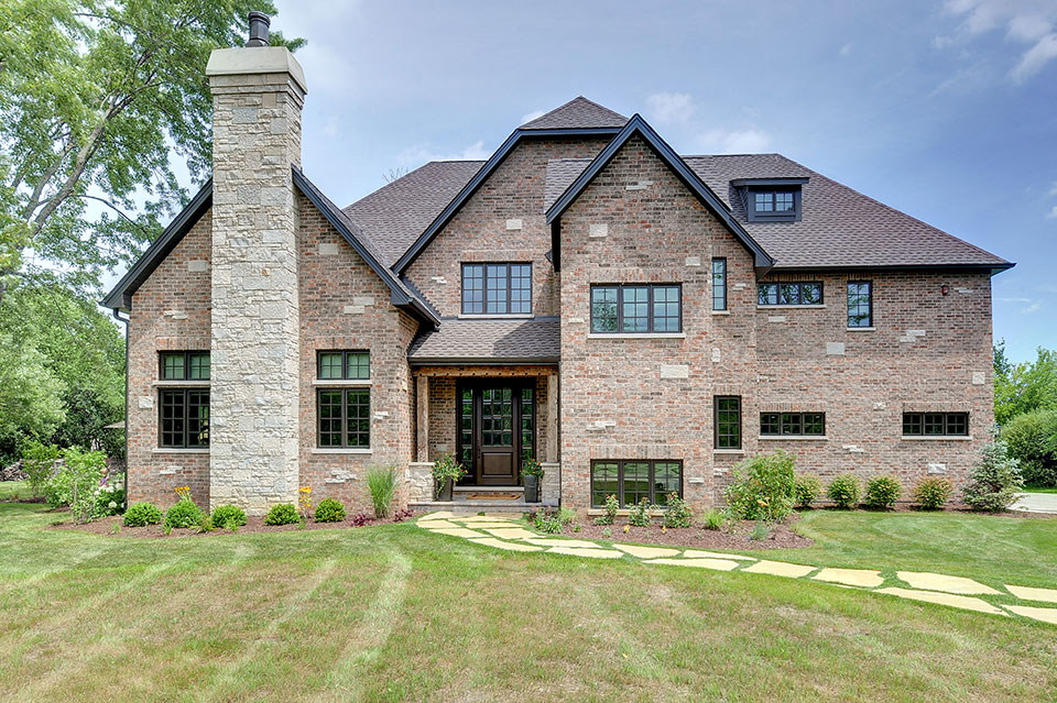 316-Luthin-Oak-Brook - House-Front-Elevation - Globex Developments Custom Homes