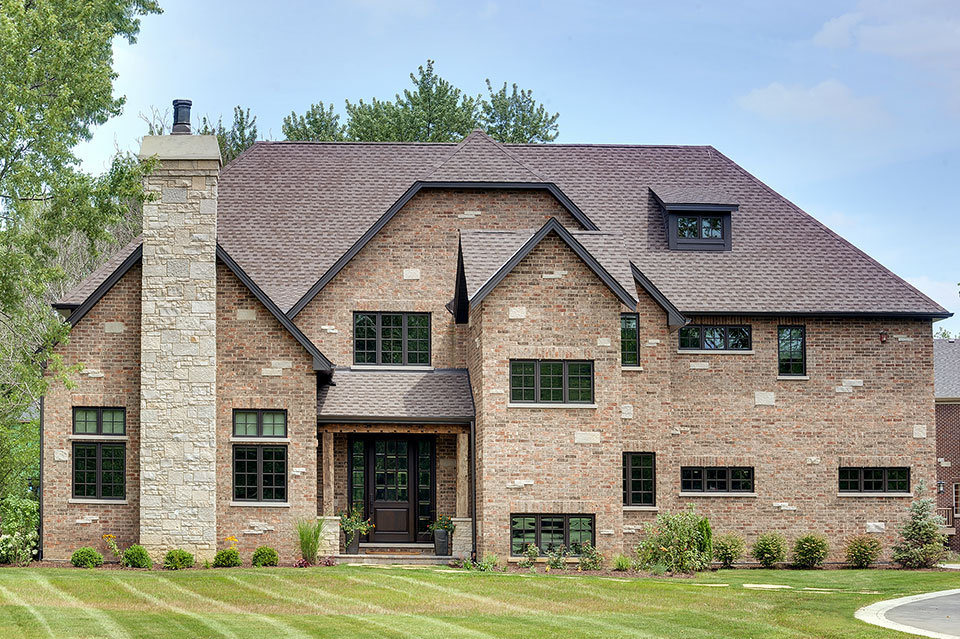 316-Luthin-Oak-Brook - House-Front - Globex Developments Custom Homes