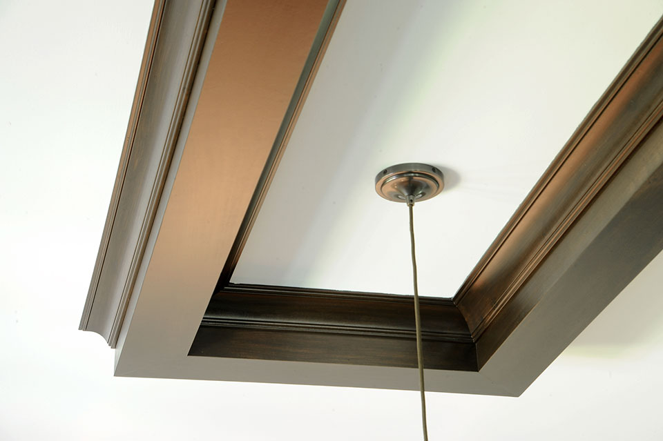 316-Luthin-Oak-Brook - Kitchen-Ceiling-Detail - Globex Developments Custom Homes
