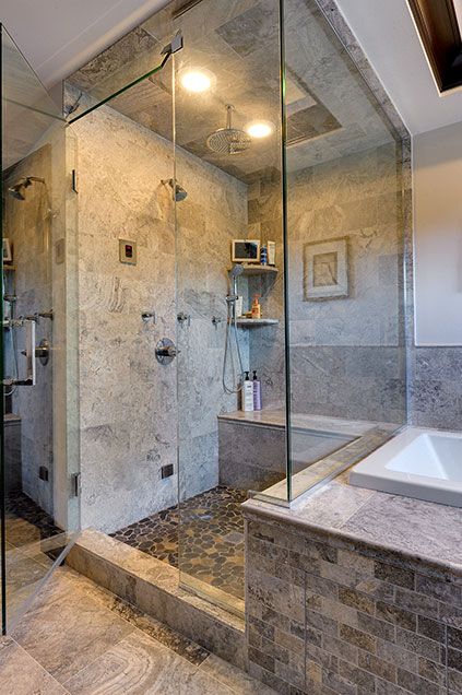 316-Luthin-Oak-Brook - Master-Bathroom-Shower-Detail - Globex Developments Custom Homes