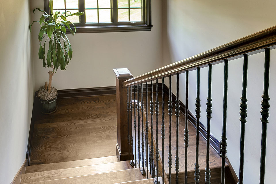 316-Luthin-Oak-Brook - Staircase-Railing - Globex Developments Custom Homes