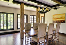 316-Luthin-Oak-Brook - Dining Room - Globex Developments Custom Homes