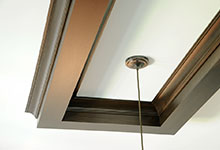 316-Luthin-Oak-Brook - Kitchen Ceiling Detail - Globex Developments Custom Homes